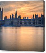 Westminster Nights Canvas Print