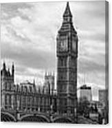 Westminster Panorama Canvas Print
