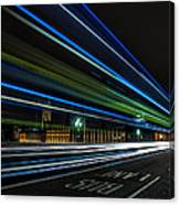 Westminster Trailing Lights Canvas Print