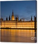 Westminster Twilight II Canvas Print