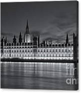 Westminster Twilight Iv Canvas Print