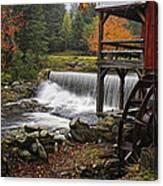Weston Grist Mill Canvas Print