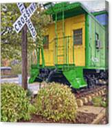 Weston Railroad Crossing Canvas Print