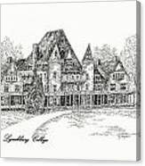 Westover Lynchburg College Canvas Print