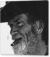Westward Ho Homage 1935 Tombstone Slim Helldorado Days Tombstone Arizona 1968-2008 Canvas Print