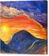 Westward Look Canvas Print