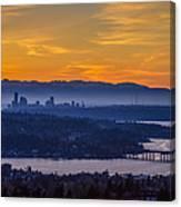 Gateway To Seattle Canvas Print