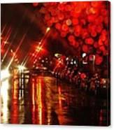 Wet City 2 Canvas Print