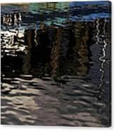 wet fishing boat,kyle of lochalsh Scotland  Canvas Print