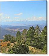Wet Mountain Valley And Beyond Canvas Print