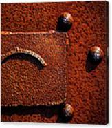 Wet Rust Canvas Print