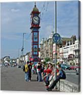 Weymouth Esplanade Canvas Print