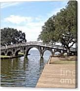 Whalehead Club Bridge Canvas Print