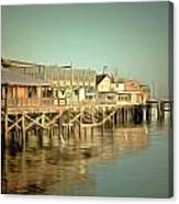 Fishermans Wharf Monterey California Canvas Print