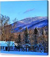 What A Backyard View-hdr Canvas Print