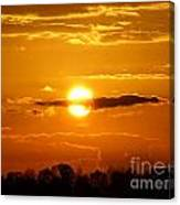 What Do You See Sunset Canvas Print