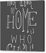 what i love most about my home chalkboard digital art by the sweet
