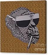 Whatssup Dawg  Leopard Canvas Print