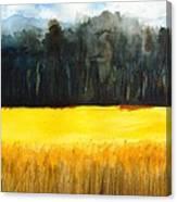 Wheat Field 1 Canvas Print