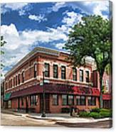 Wheaton Front Street Panorama Canvas Print