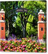 Wheaton Memorial Park Canvas Print