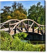 Wheaton Northside Park Bridge Canvas Print