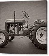 Wheel Horse Vintage Canvas Print