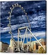 Wheel In The Sky Las Vegas Canvas Print