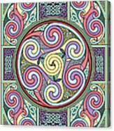 Wheel Of Celtia Canvas Print