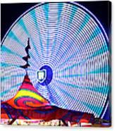 Wheel Of Light Work B Canvas Print