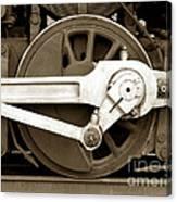 Wheel Power Canvas Print