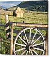 Wheelgate Canvas Print