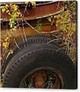 Wheels Of Autumn Canvas Print