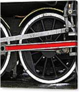 Wheels Of The Kingston Flyer Canvas Print