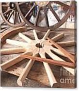 Wheelwright Canvas Print