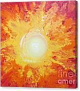 When Fire Falls Canvas Print