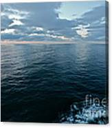 When God Bless Artists And Dreamers . Miracle Baltic See Canvas Print