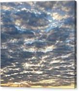 When Heaven Meets The Earth Canvas Print