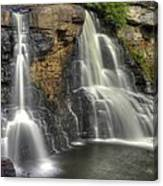 When Light And Water Falls-1a Blackwater Falls State Park Wv Autumn Mid-morning Canvas Print