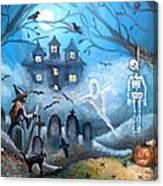 When October Comes Canvas Print