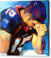 When Tebow Was A Bronco Canvas Print