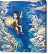 When We Were Kids Canvas Print