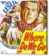 Where Do We Go From Here, Us Poster Canvas Print