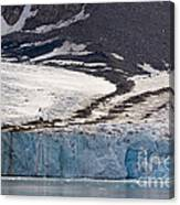 Where Glaciers Meet Canvas Print