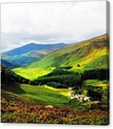 Where Is Soul Flying. Wicklow Mountains. Ireland Canvas Print