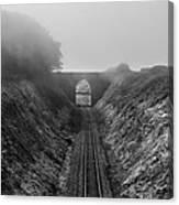 Where Is Steam Train Canvas Print