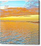 Where Orange Touches Orange Canvas Print