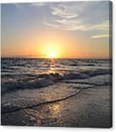 Where The Sun Sets Canvas Print