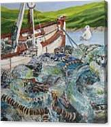 Where-are-the-fish Canvas Print