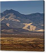Whetstone Mountains At Sunset Canvas Print